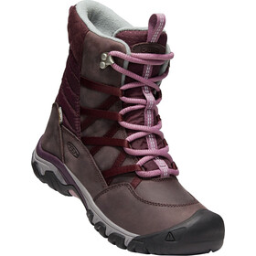 Keen Hoodoo III Lace Up Kengät Naiset, peppercorn/winetasting